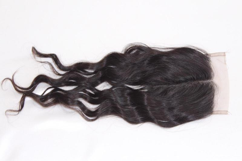 Natural loose wavy lace front