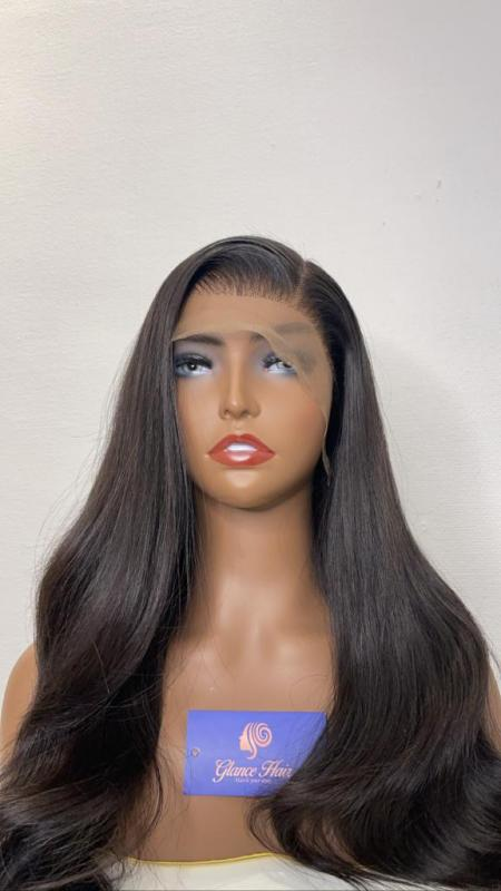 Glue less frontal Wig