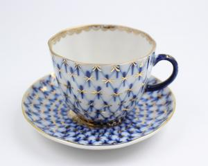 Cobalt Net - Coffee cup