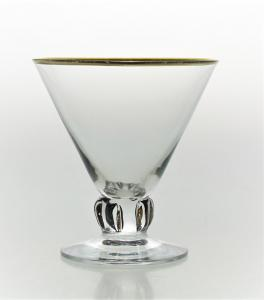 Cocktailglas 9 CL - Guldkant