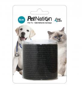 Bandagebinda PetFix Easy Care svart