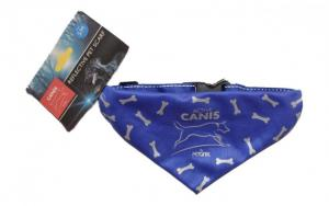 Reflective Scarf Active Canis Blue S/M