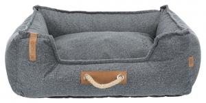 BE NORDIC Föhr Soft hundbädd, grå