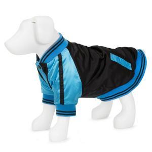 Vanderpump Pets Baseball Jacket, Blå