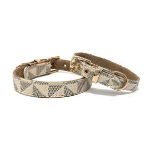 Chewy hundhalsband, beige
