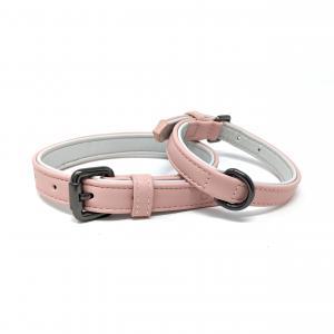 Cambridge collar, rosa hundhalsband