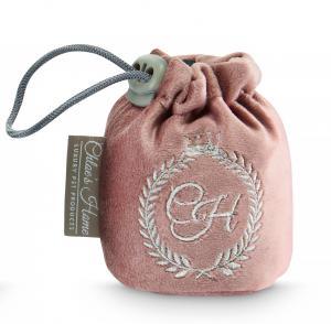 Lyxig bag för hundgodis, rosa