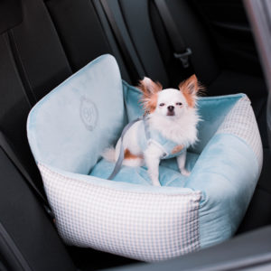 Porto hundbilstol, blå