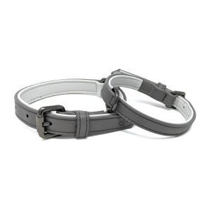 Cambridge Collar, grått hundhalsband