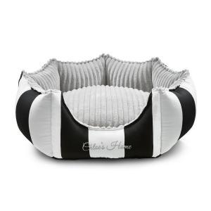 Bed Monte Carlo, svart/vit
