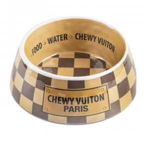 Checker Chewy Vuiton Matskål