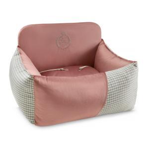 Porto hundbilstol, rosa