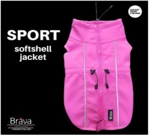 Sport Softshell jacka rosa