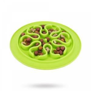 Trixie Slow feed fodermatta slikon grön 24 cm
