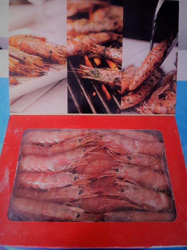 Argentinsk rödräka kvot & vildfångad 2kg