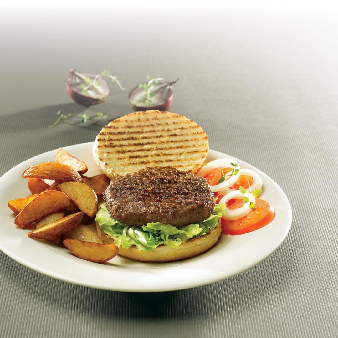 black angus hamburgare