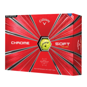 Callaway Chrome Soft 18 Yellow