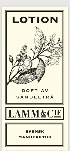 Peder Lamm, Lotion Sandelträ 200 ml