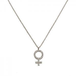 Edbland Halsband Me Necklace Steel