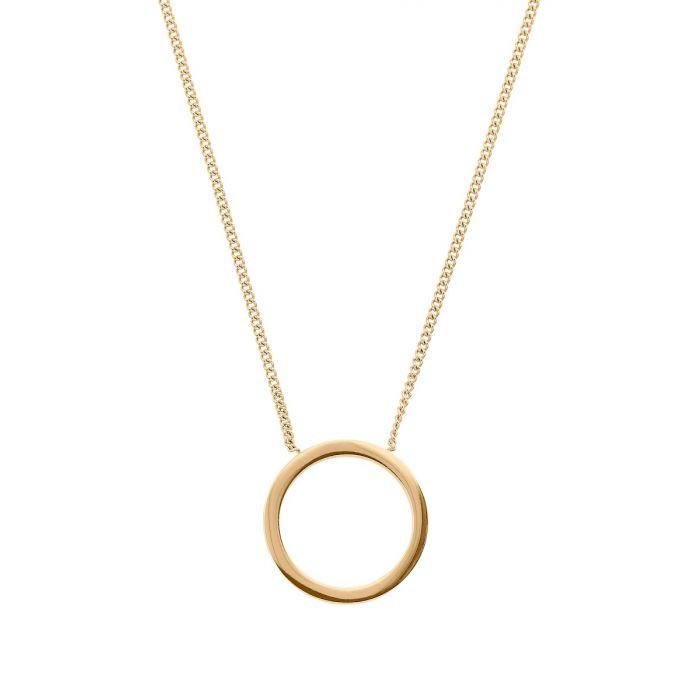 Edblad Halsband Circle Necklace Small Gold
