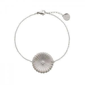 Edblad Armband Crinkle Bracelet Matt Steel