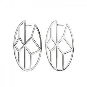 Edblad Örhänge Shirin Earrings Steel