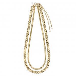 PILGRIM halsband gold plated