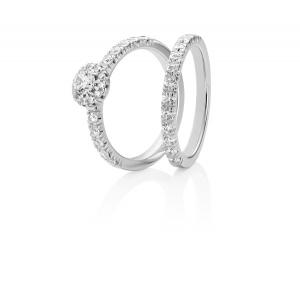 Annabelle  18K Vitguld med 0,64ct Diamanter