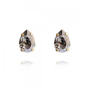 Caroline Svedbom Petite Drop Earrings / Black Diamond