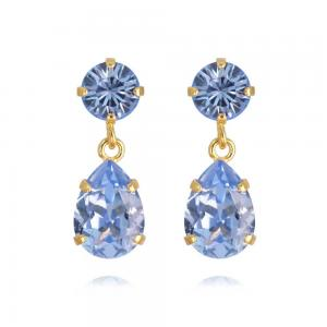 Caroline Svedbom Mini Drop Earrings / Light Sapphire