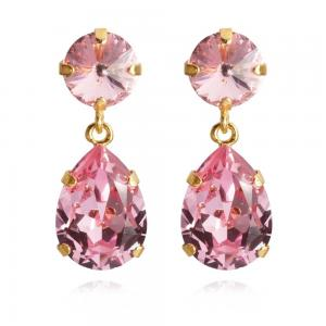 Caroline Svedbom Classic Drop Earrings / Light Rose