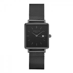 ROSEFIELD THE BOXY MESH BLACK