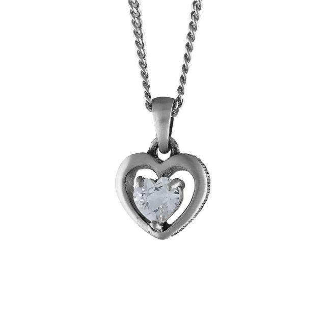 FinnFeelings Hjärta med bergskristall