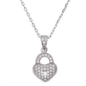Friman halsband silver