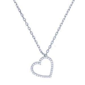 Friman - halsband silver