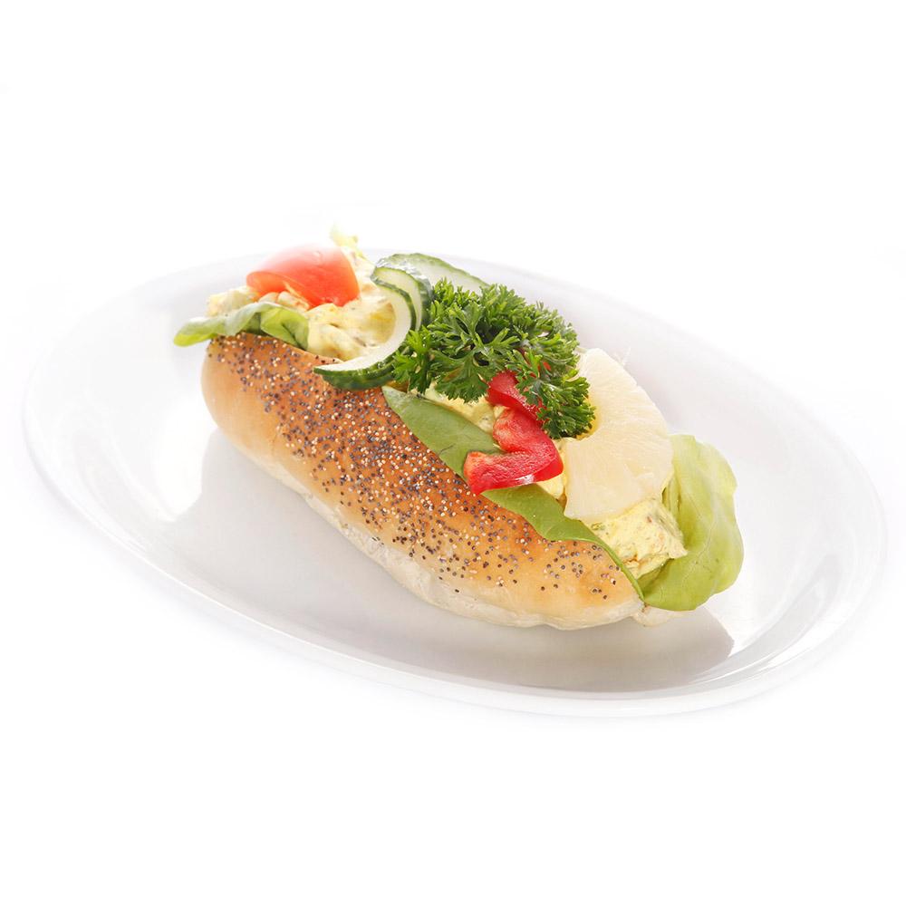 Baguette med kycklingröra