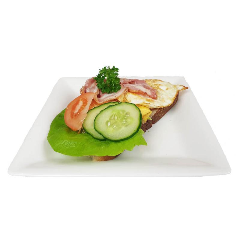 Smörgås, Ägg och bacon