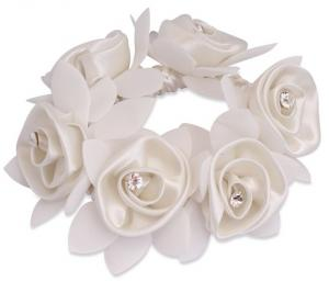 SD Design Diamond Rose Scrunchie