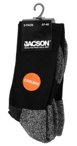 Jacson Strumpa Coolmax 2-Pack