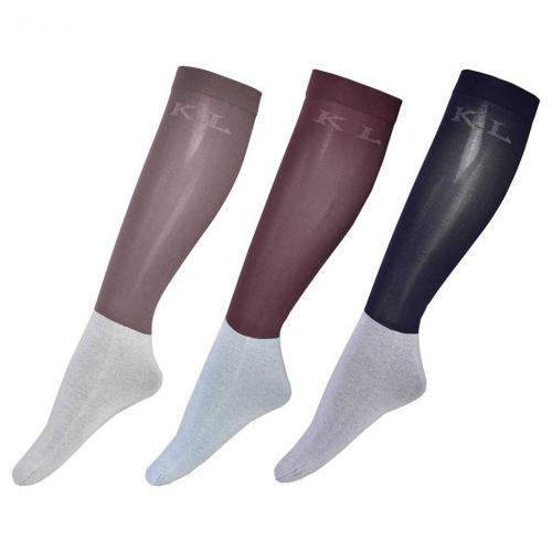 KL Letitzia Unisex Show Socks 3-Pack