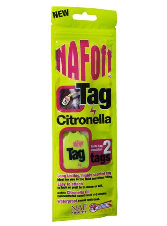 Naf Off Citronella Tags
