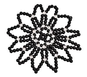 SD Design Hårnät Pärlor och Kristaller