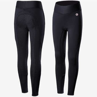 Horze Junior Active silikonhelskodda ridtights 140