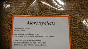 Morotspellets