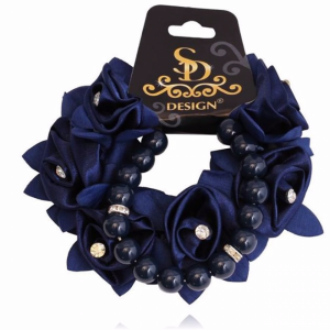diamond and rose pearl set navy