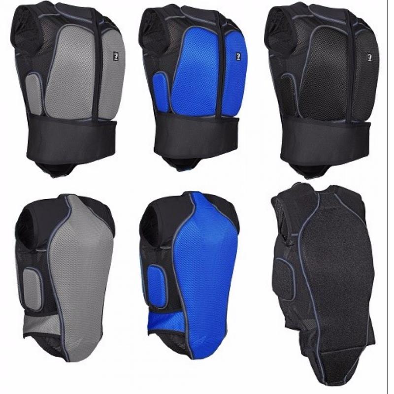 horka backprotector svart lätt säkerhetsväst