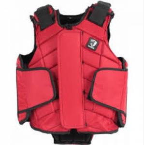 säkerhetsväst röd