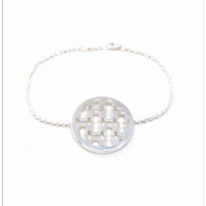 silverarmband by annfilippa