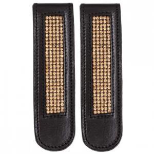 bootclip black gold crystal