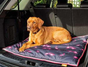 Digby & Fox Waterproof Dogbed 60X80cm Flamingo
